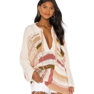 NWT Free People Bayside Pullover Sweater XS